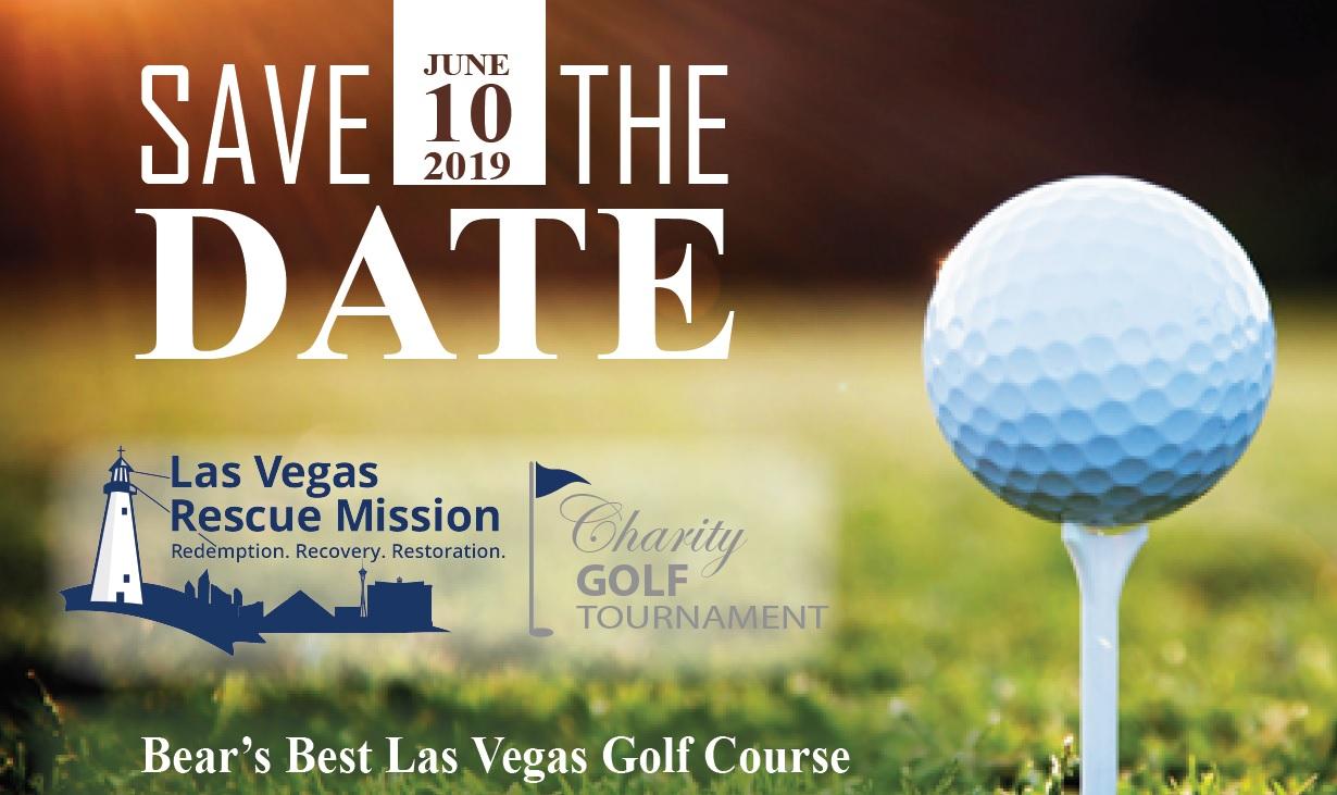 Golf Tournament Save the Date - Las Vegas Rescue Mission