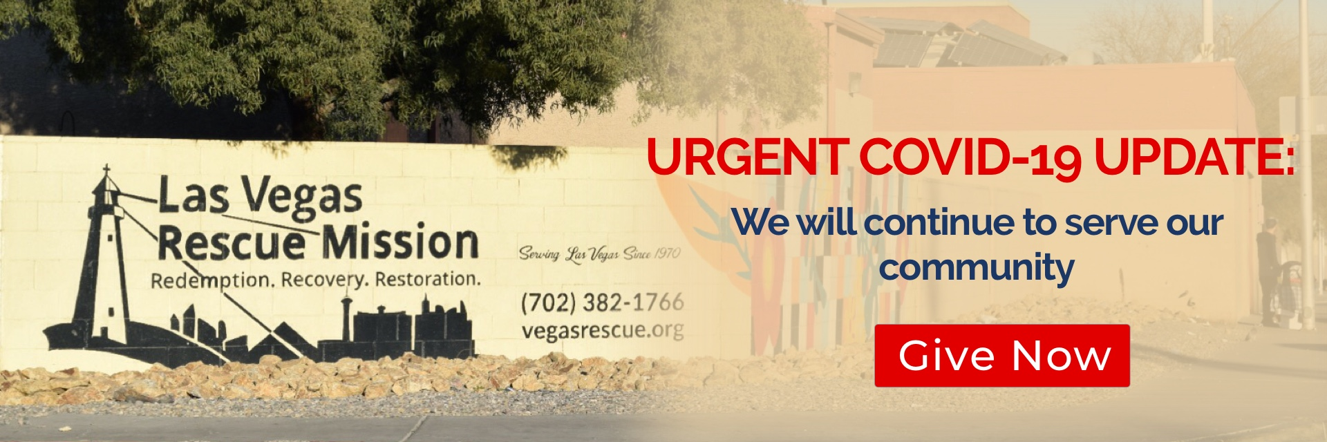 Las Vegas Rescue Mission Serving All Caring For Each Since 1970